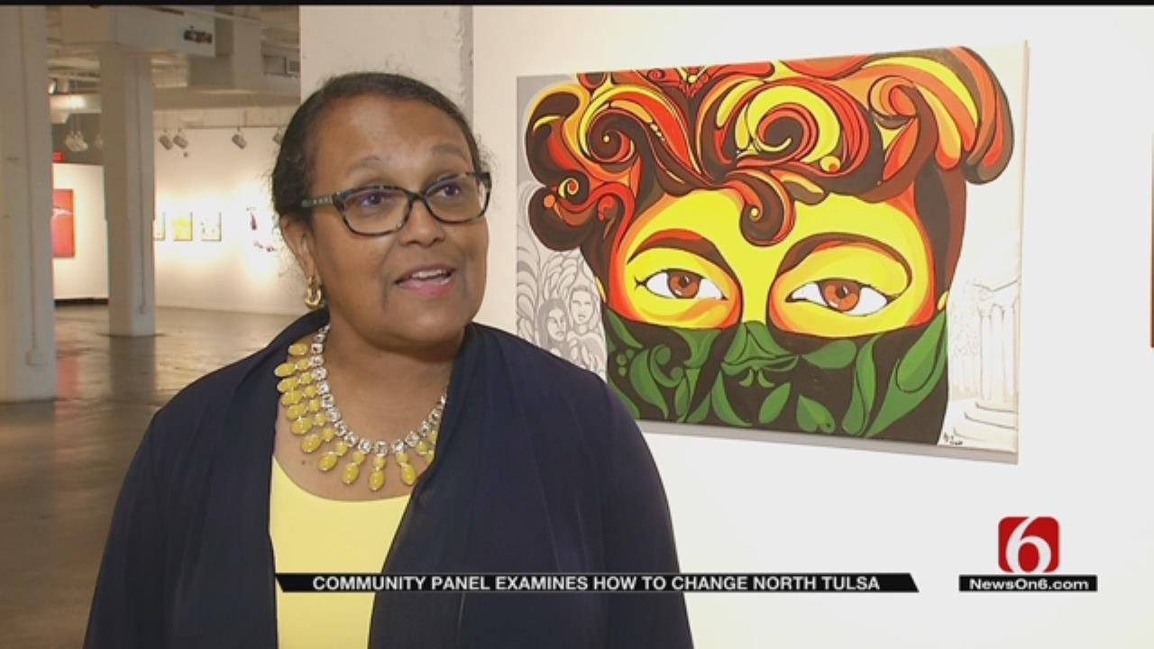 Art Project Examines Change Needed In North Tulsa