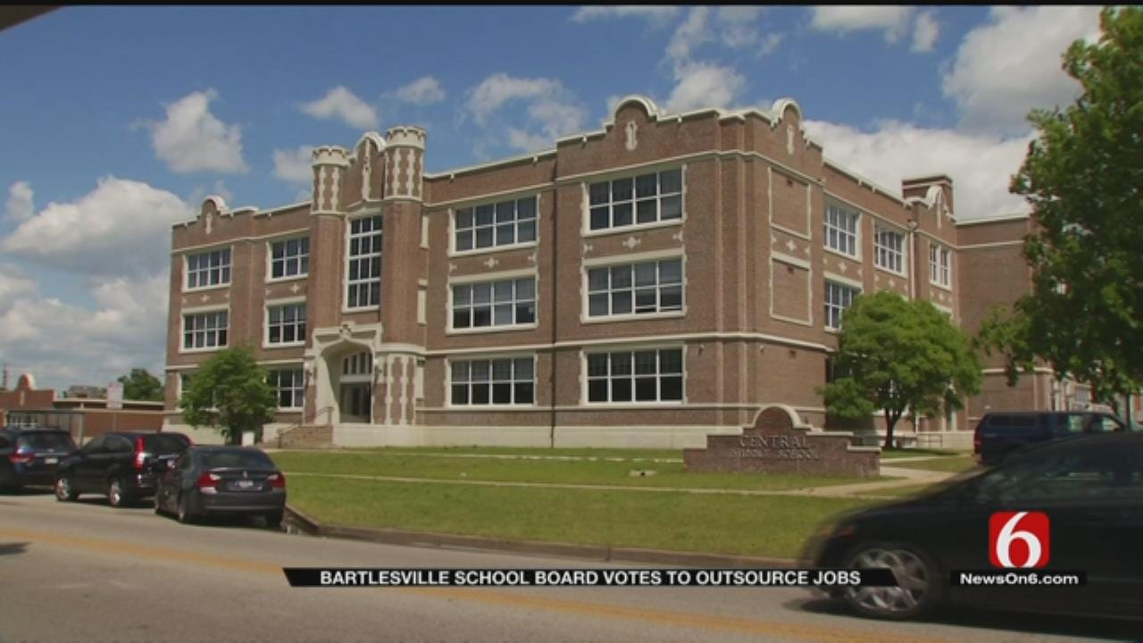 Bartlesville School Board Votes To Outsource Janitorial Staff