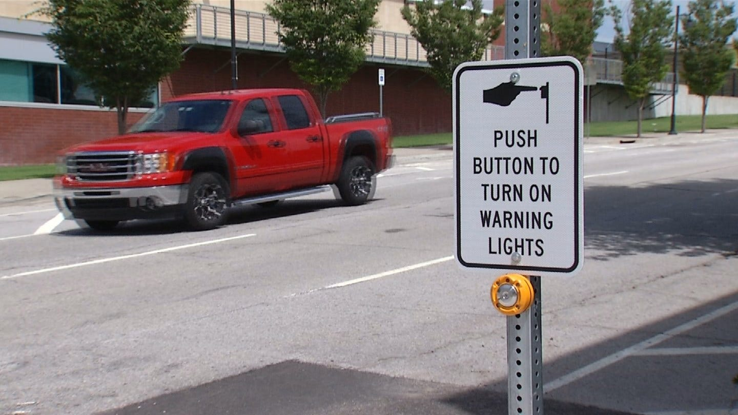 Tulsa Installs New Signs To Prevent Accidents In High-Traffic Areas