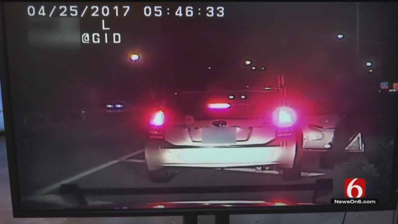 Tulsa Officer Under Investigation For Pointing Gun At Woman During Traffic Stop