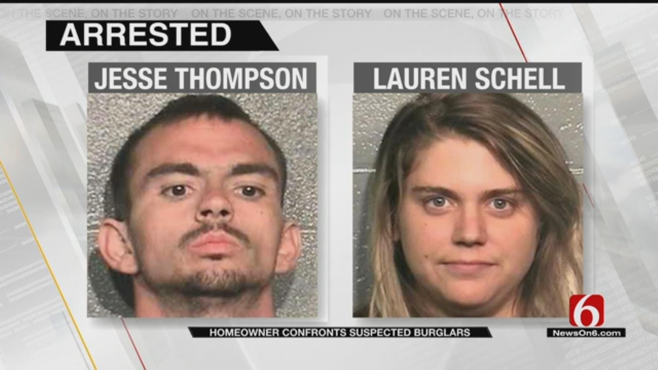 Sand Springs Man, Woman In Jail After Attempt To Steal SUV