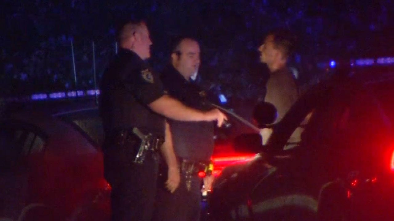 Dave Davis: Sand Springs Search Ends With Two Arrests