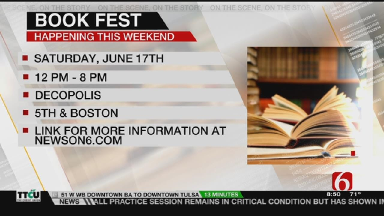 Tulsa BookFest Previewed On 6 In The Morning
