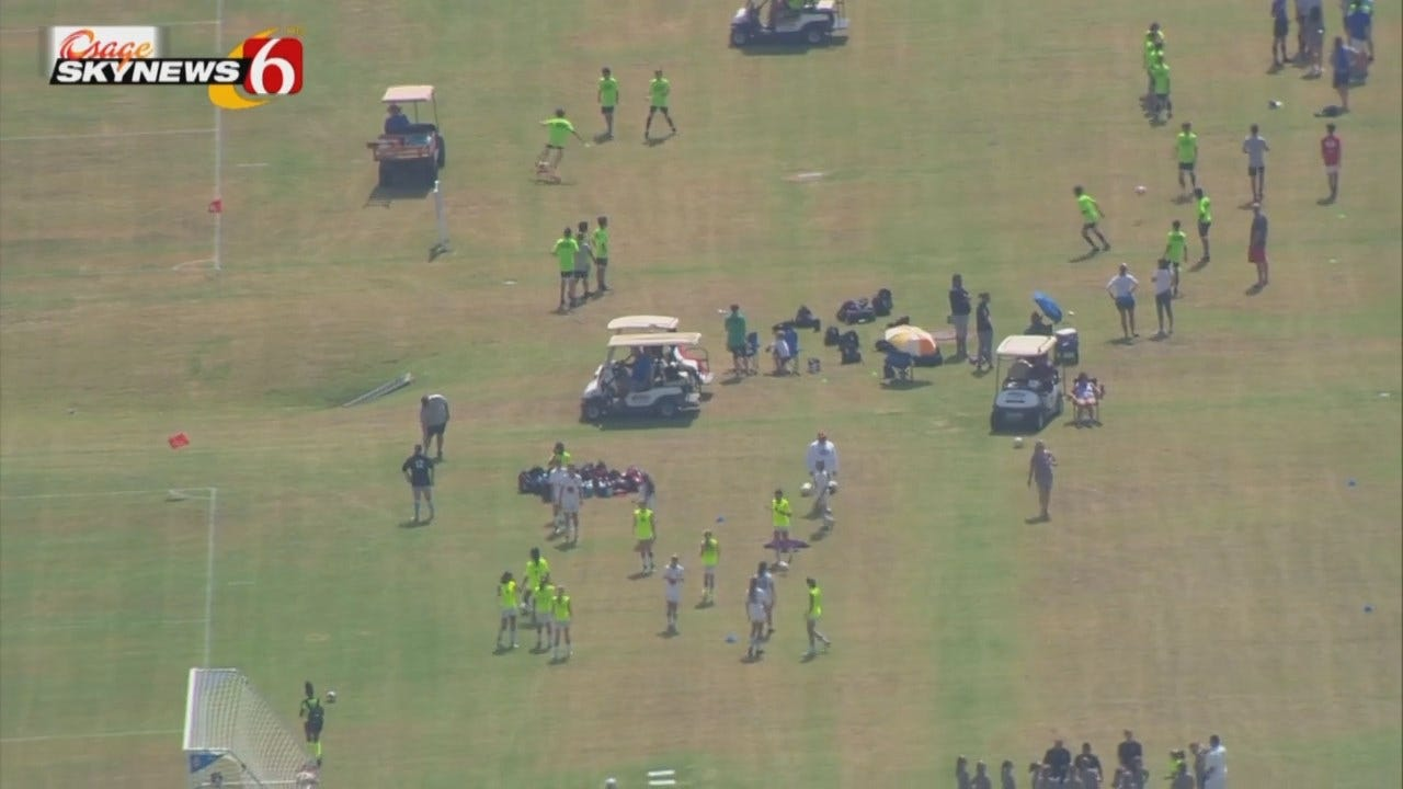 Osage SkyNews 6 HD: View Of Tulsa Youth Soccer Tourney From Above