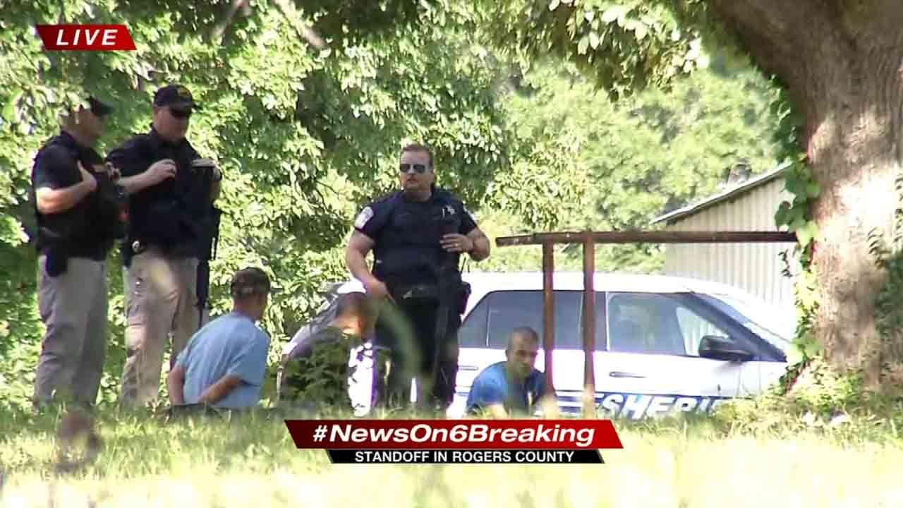 People Removed From Rogers County Home Not Connected To Jail Escapees