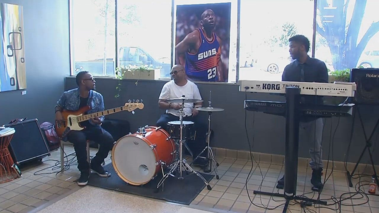 WEB EXTRA: Video From Event Remembering Tulsa's Wayman Tisdale
