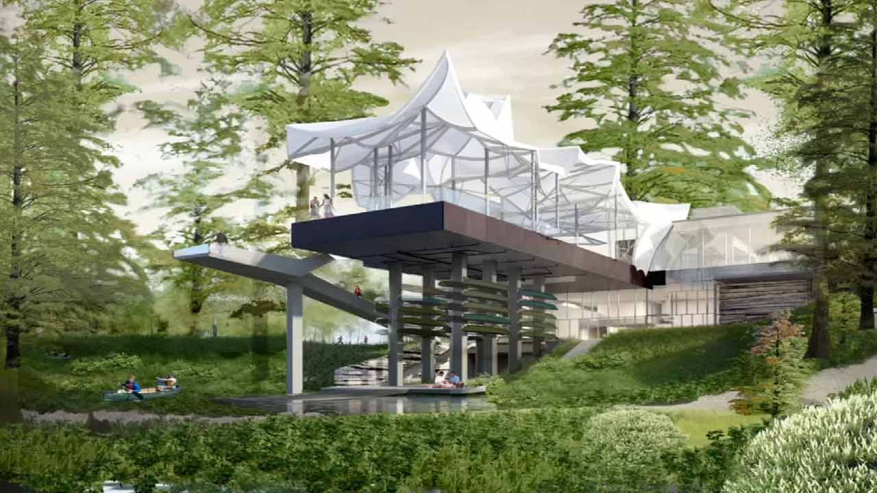 Boathouse Will Be Iconic Image Of The Gathering Place