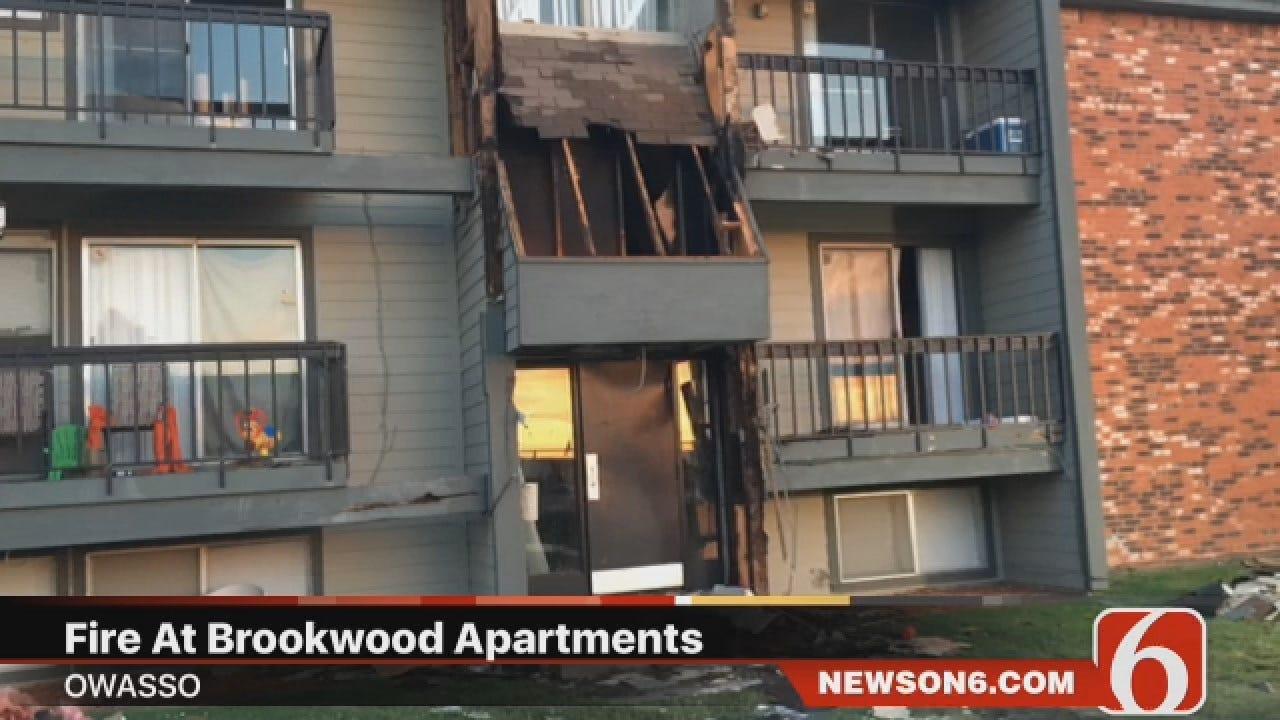 Joseph Holloway Says Fire Damages Owasso Apartment Building