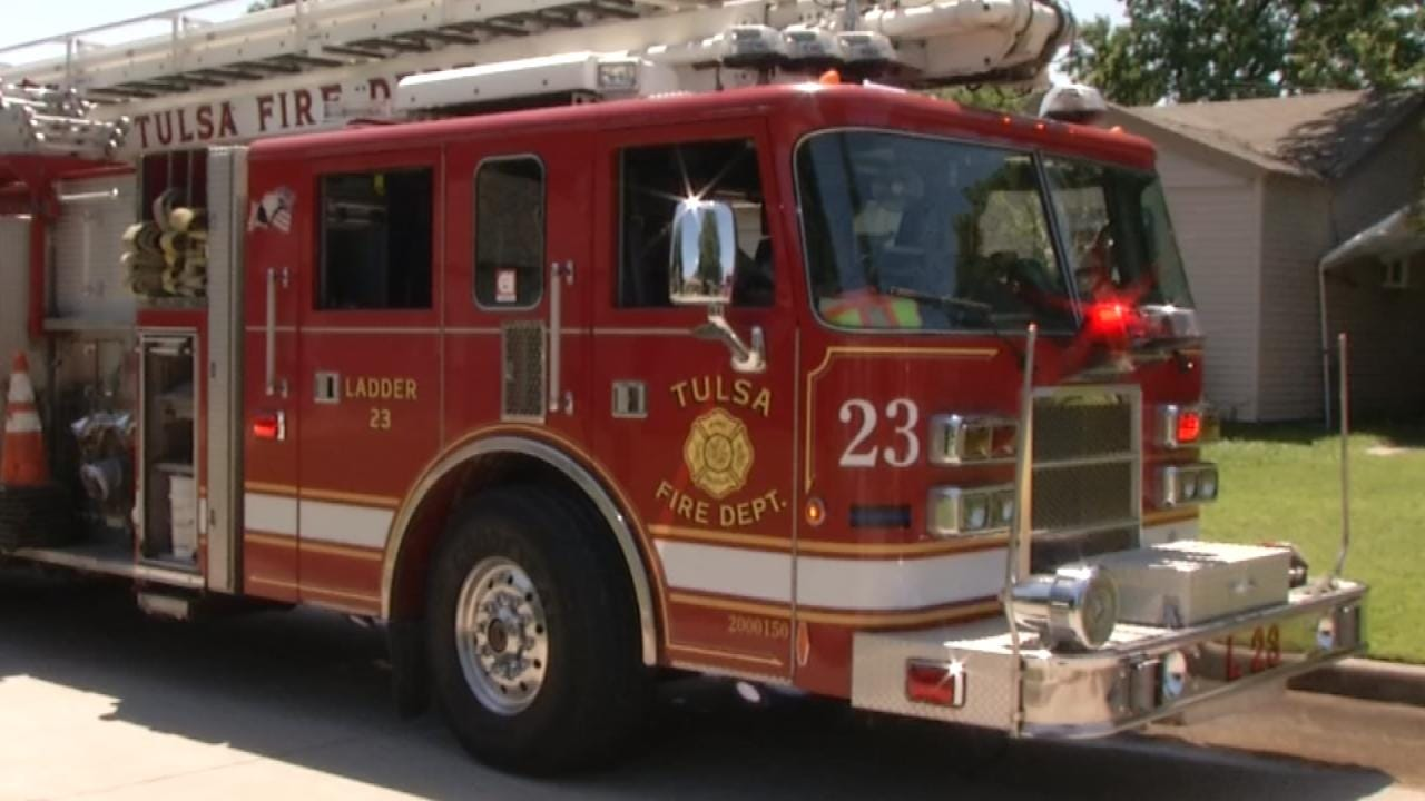 Symbolic Support For Law Enforcement Removed From Tulsa Fire Trucks