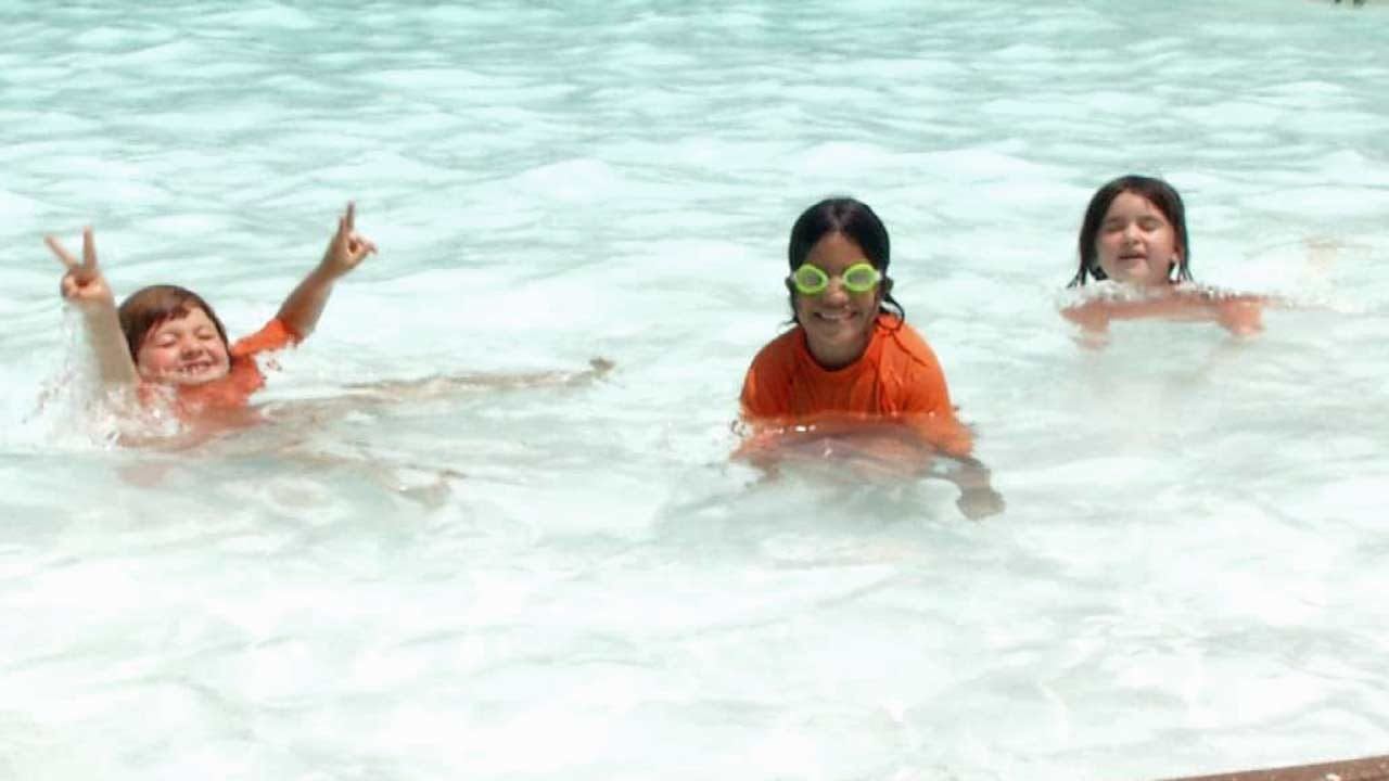 Tulsa Kids Excited As City Swimming Pools Open