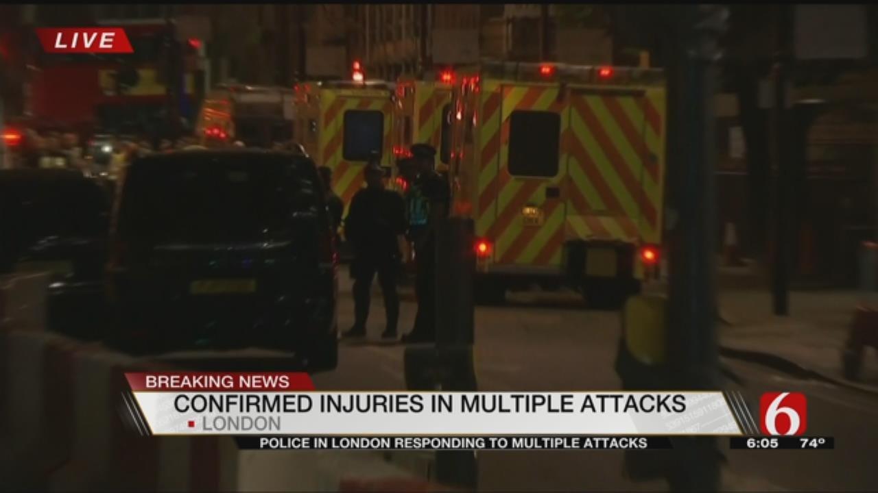 London Attack: British Police Say 2 Attacks 'Terrorist Incidents'
