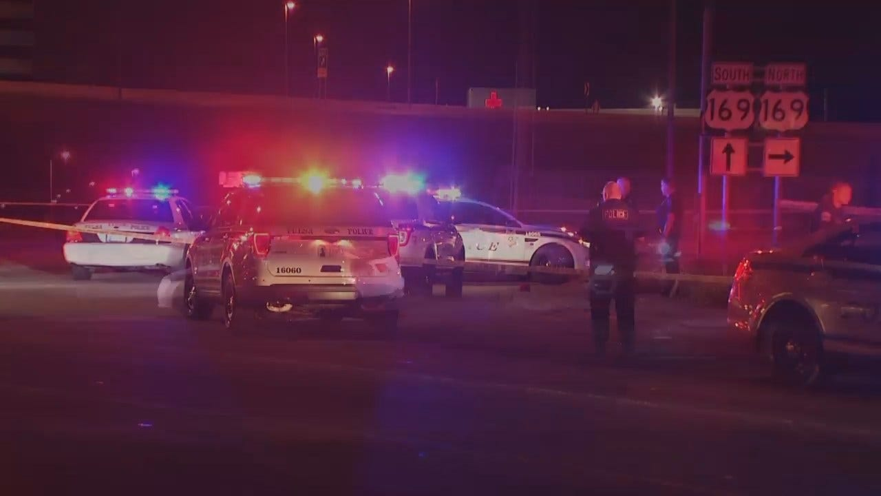 WEB EXTRA: Video From Scene Of Fatal Tulsa Police Officer Involved Shooting