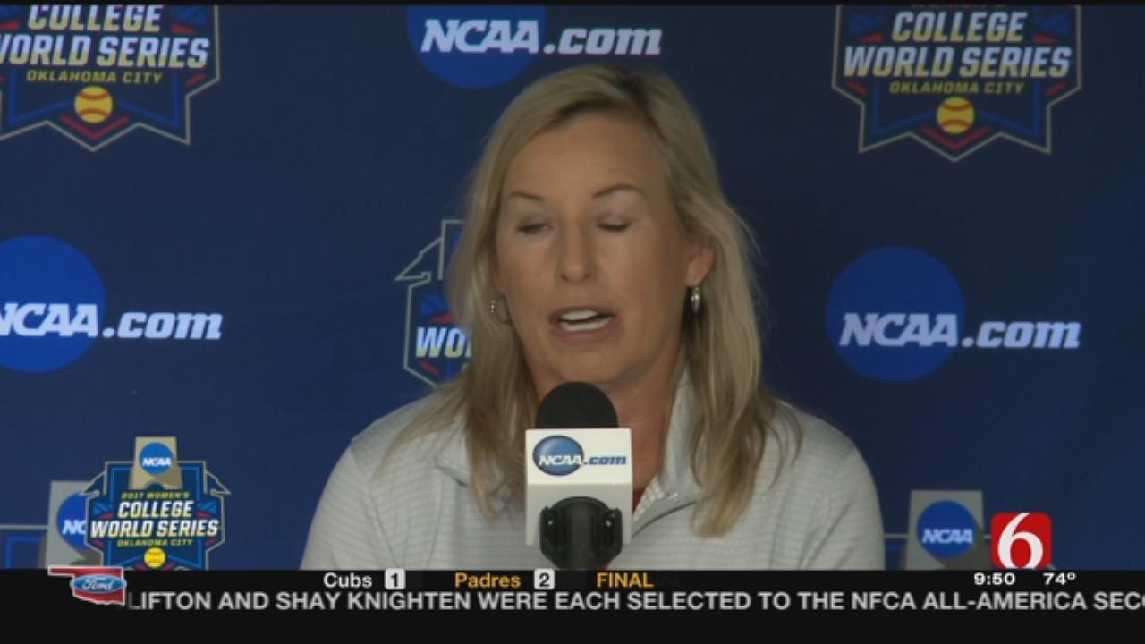 Sooner Softball: Patty Gasso Talks WCWS