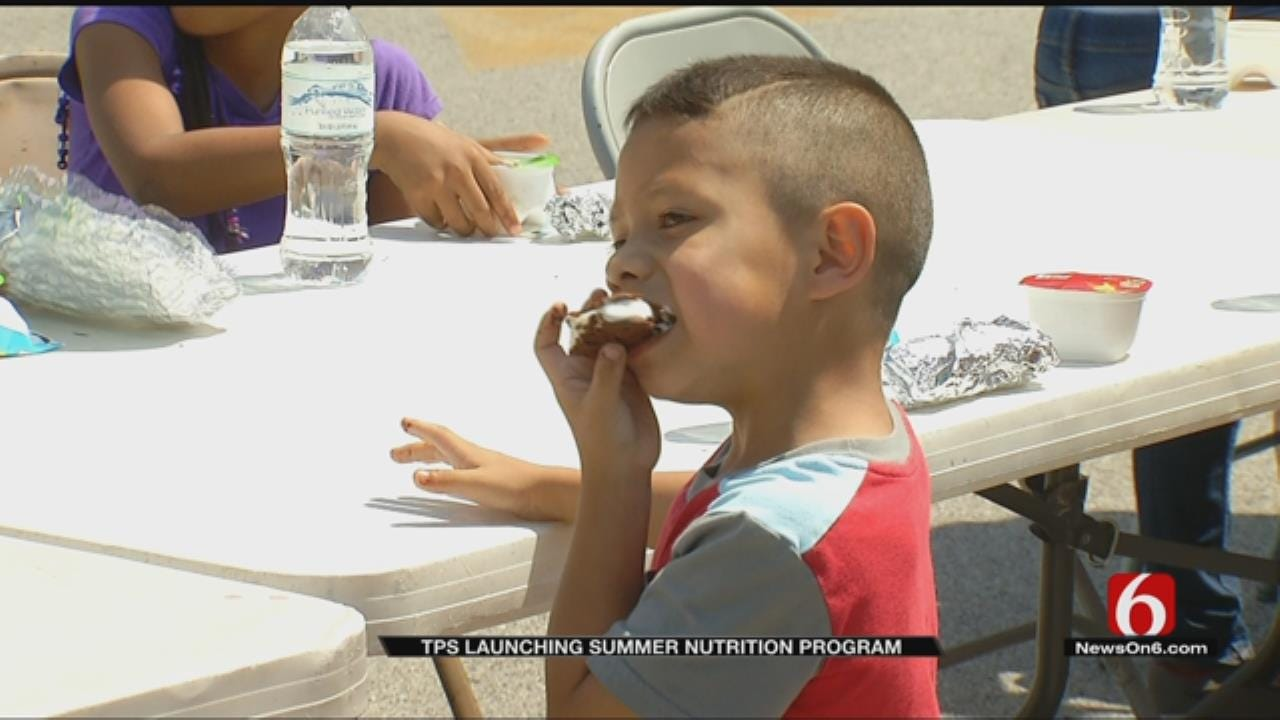 Free Meals For Tulsa Kids Served At Summer Cafes