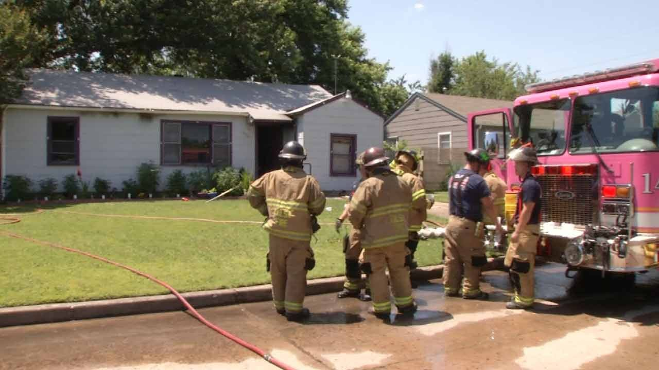 7 Cats, 1 Dog Killed In Tulsa House Fire
