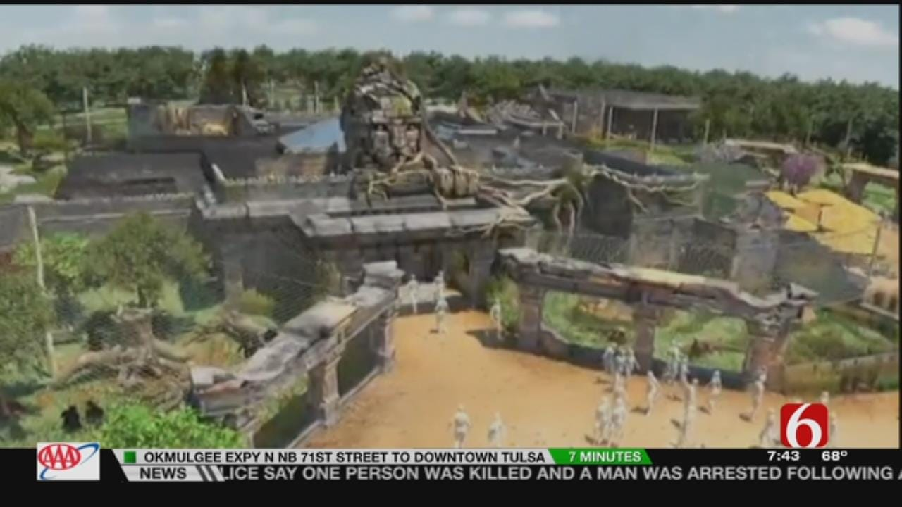 Wild Wednesday: Sneak Peek At Tulsa Zoo's New Lost Kingdom Exhibit
