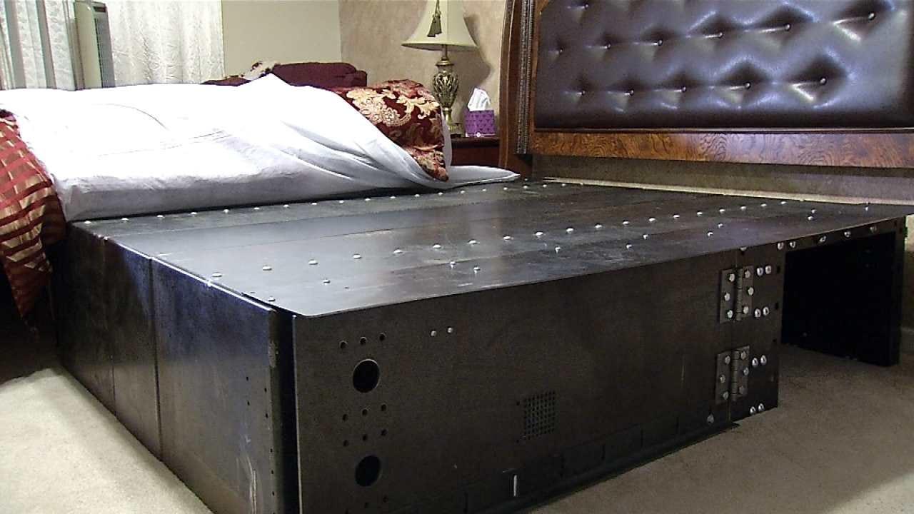 BA Man's 'Under The Bed' Tornado Shelter Gets FEMA Approval