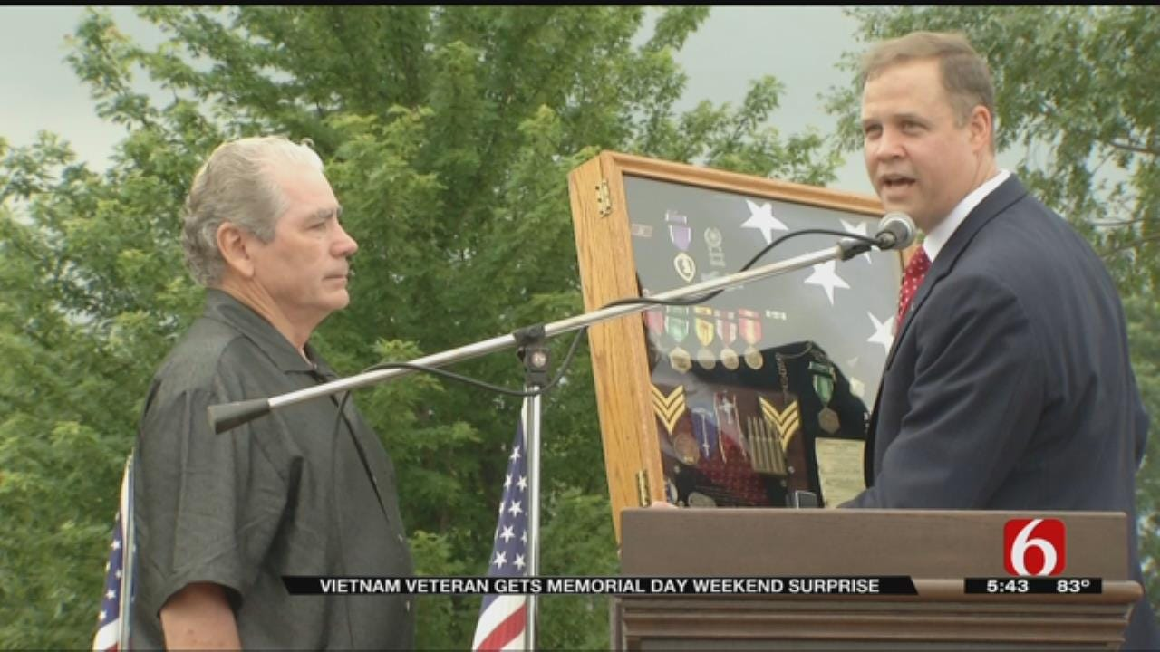Okmulgee Vietnam Veteran Surprised With Awards