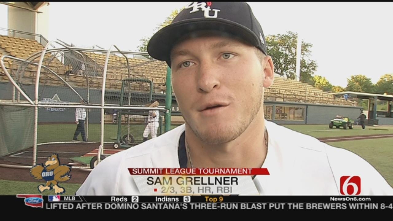 Grellner, Cummings Go Yard To Lead ORU Past No. 4 Western Illinois