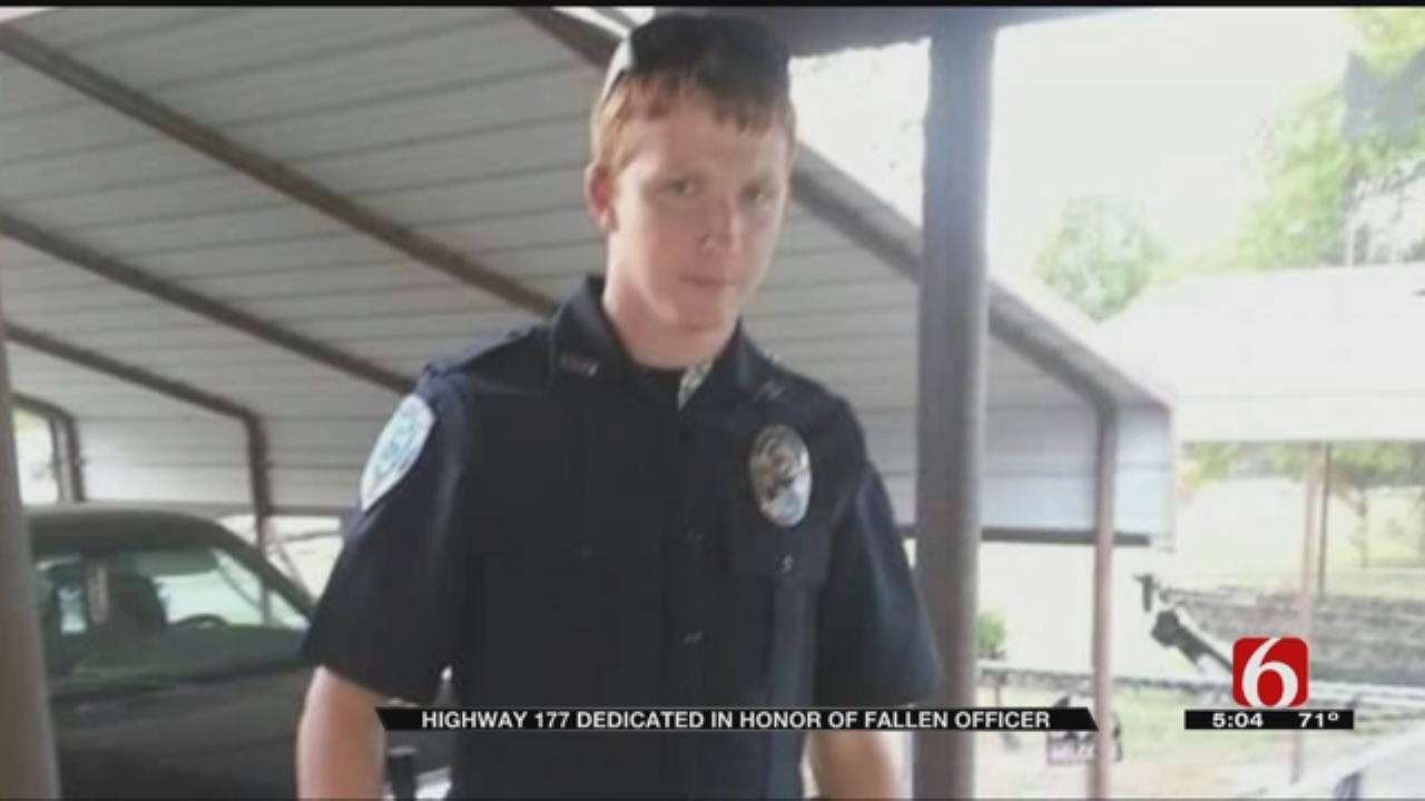 Oklahoma Highway To Be Dedicated To Fallen Police Officer Justin Terney