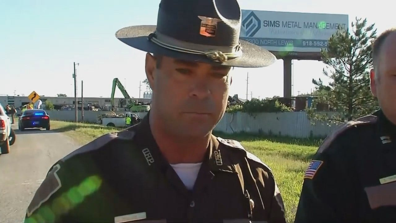 WEB EXTRA: OHP Trooper Dwight Durant Talks About Chase, Crash