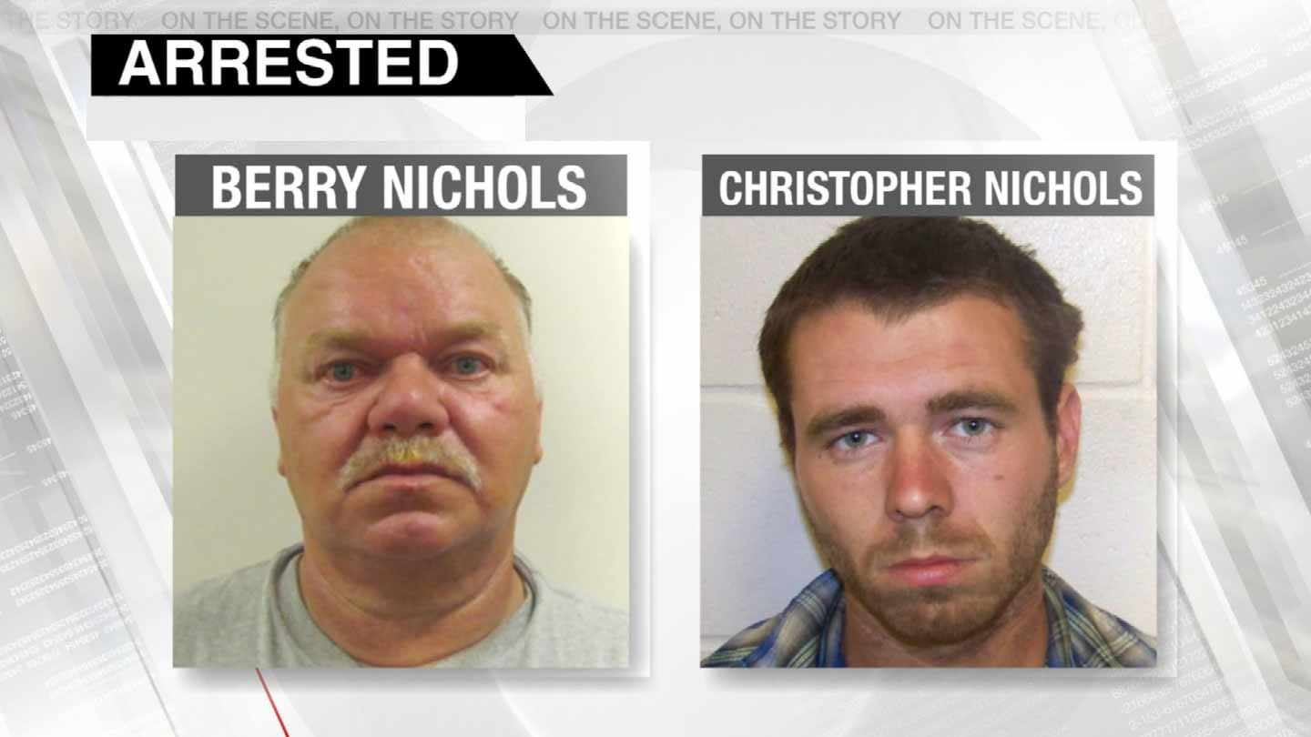 Sapulpa Pipe Bomb Scare Lands Father And Son In Jail