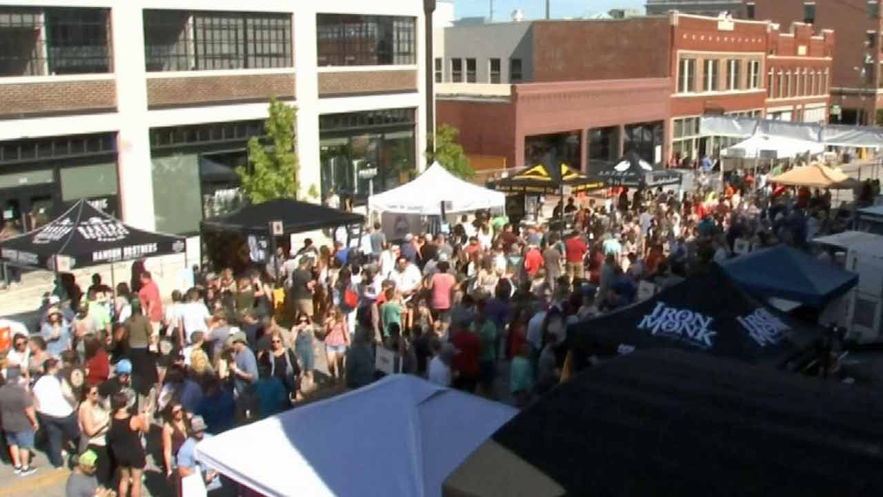 Hop Jam Plays To Big Crowds In Downtown Tulsa