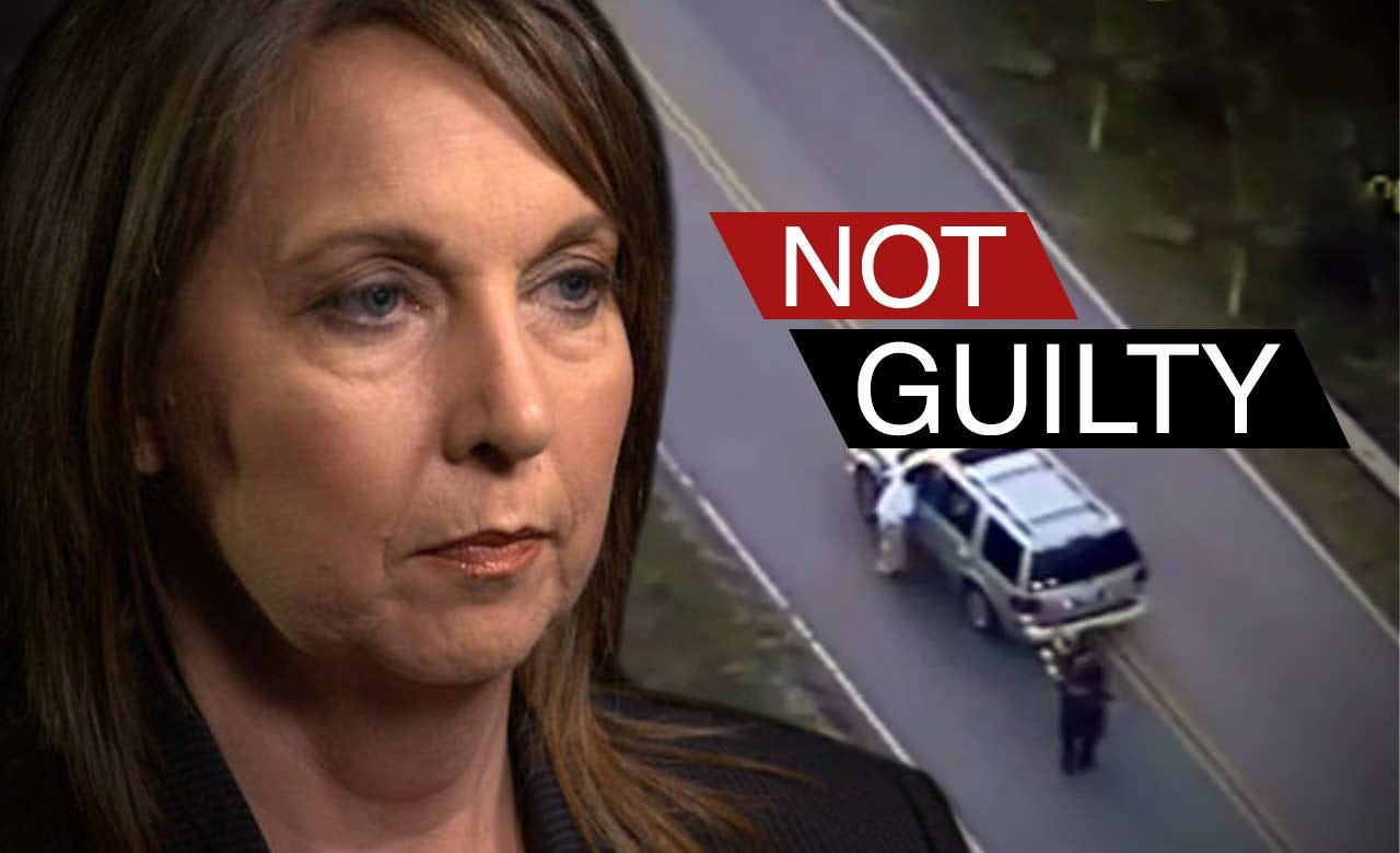 WEB EXTRA: Jury Finds Betty Shelby Not Guilty Of Manslaughter