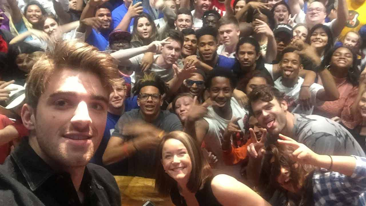 Classroom Success Brings 'The Chainsmokers' To Webster High School