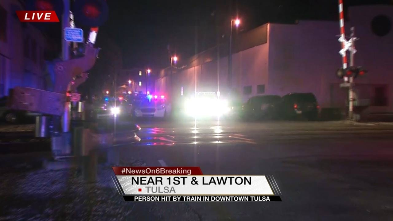 Person Hit By Train Taken To Tulsa Hospital