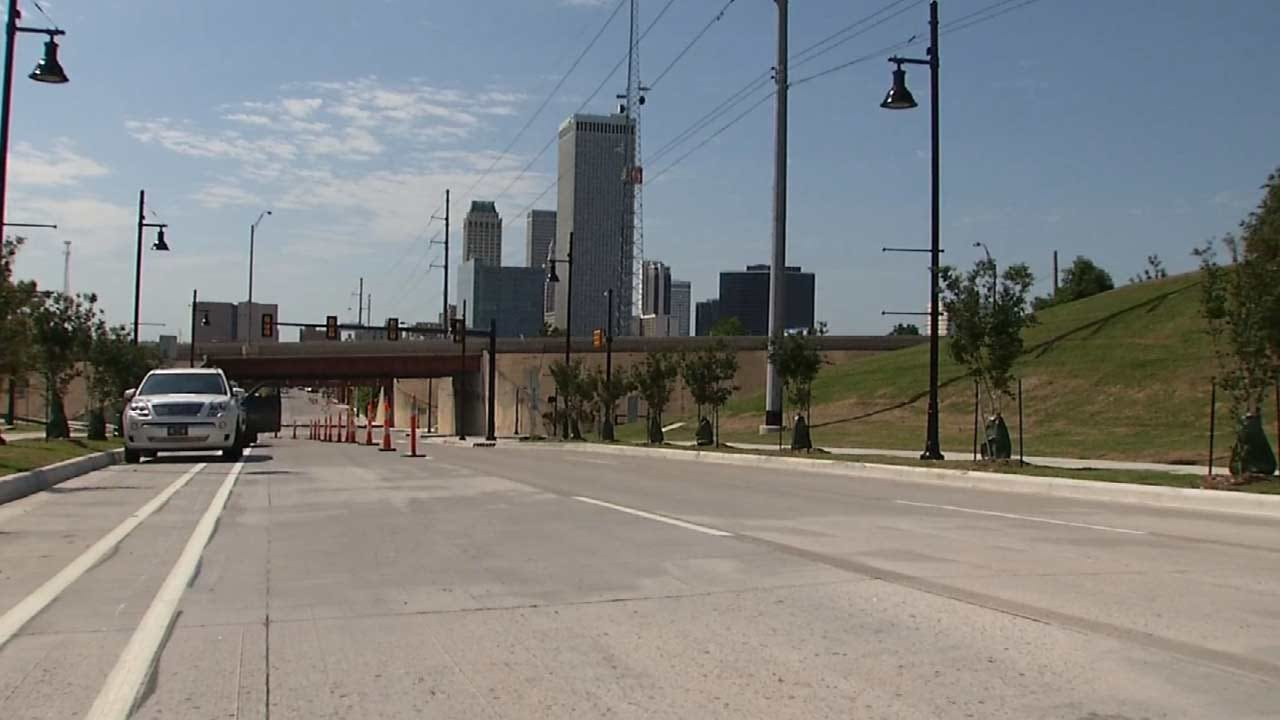 City Of Tulsa Grinds Down Newly Finished Road Surface