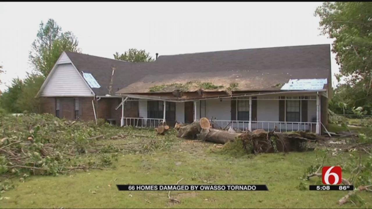 66 Owasso Homes Damaged By Thursday's EF-1 Tornado