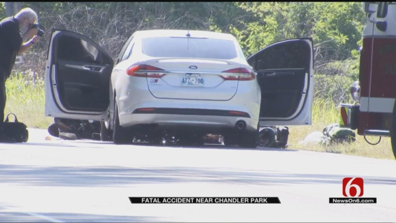 Motorcyclist Killed In Head-On Wreck Near Chandler Park
