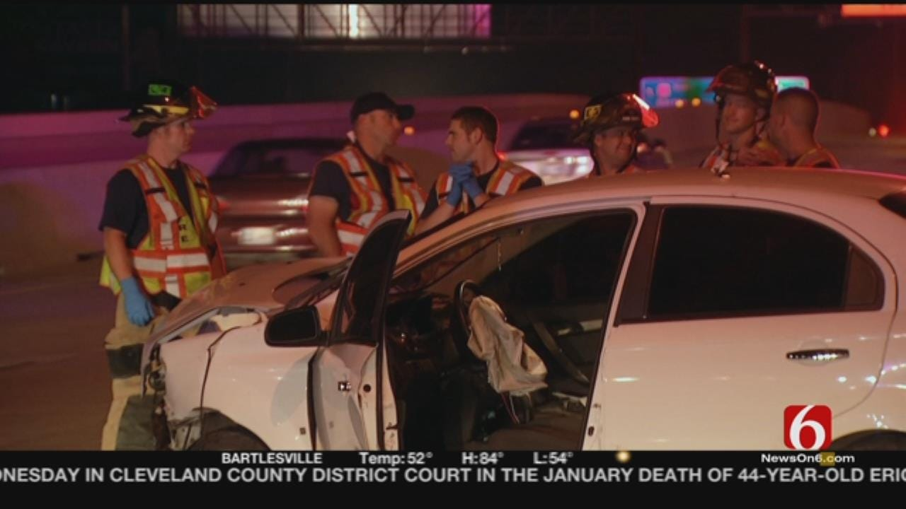 OHP: Driver Suspected Of DUI Crashes On I-244