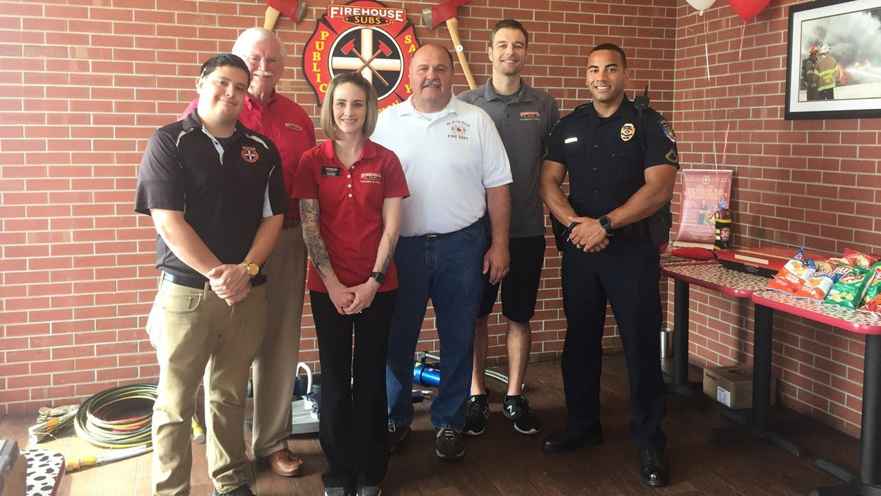 Firehouse Subs Public Safety Foundation Donates To BAPD