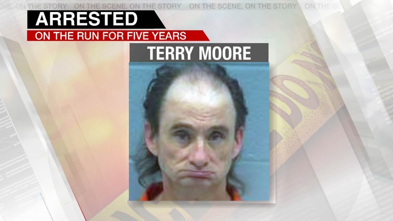 Sex Offender In Rogers County Jail After 5 Years On The Run