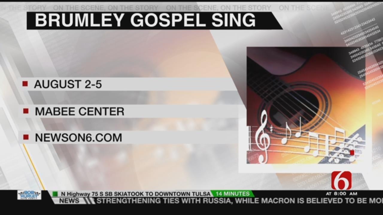 Tulsa To Host 2017 Brumley Gospel Sing