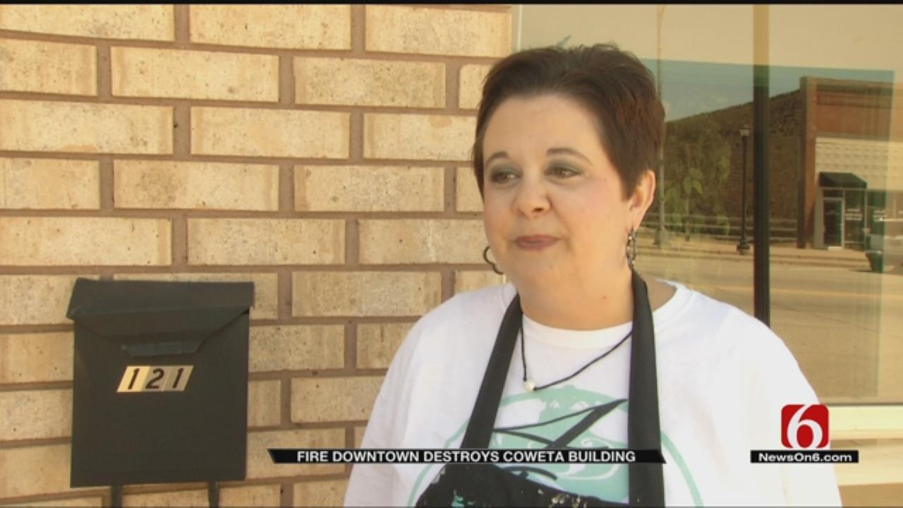Loss Of Power Due To Apartment Fire Doesn't Stop Coweta Business Owner