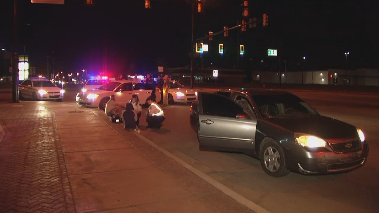 WEB EXTRA: Video From Scene Of Crash At 51st And Peoria In Tulsa