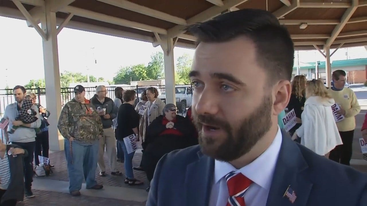 WEB EXTRA: State Senator Nathan Dahm Explains Why He Is Running For Congress