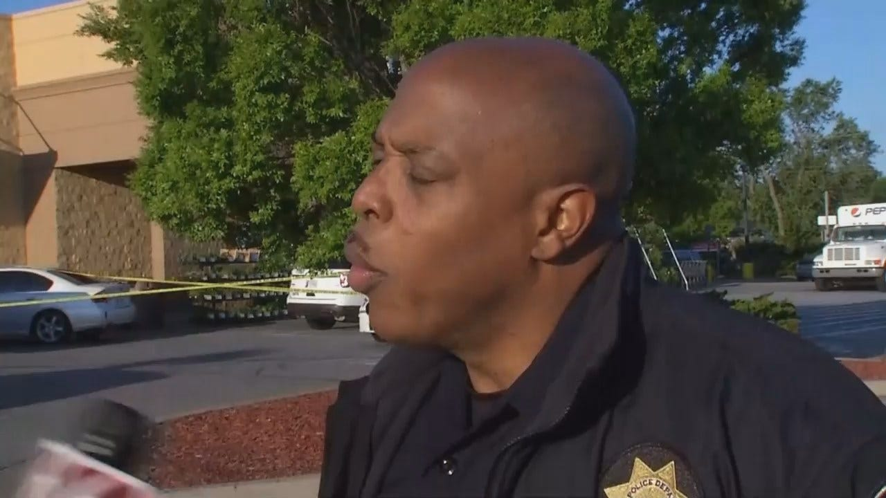 WEB EXTRA: Tulsa Police Officer Leland Ashley Talks About Shooting, Arrest