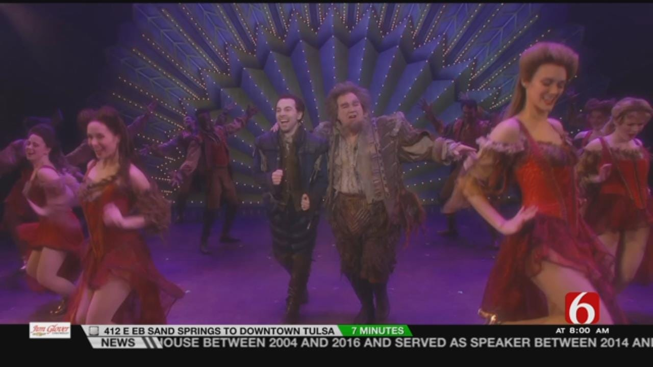 Preview Of The Musical 'Something Rotten' Coming To Tulsa