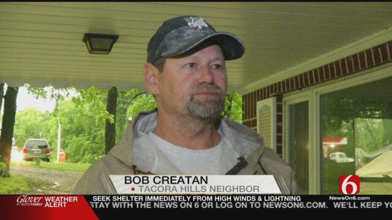 Two Green Country Families Thankful To Only Suffer Minor Storm Damage