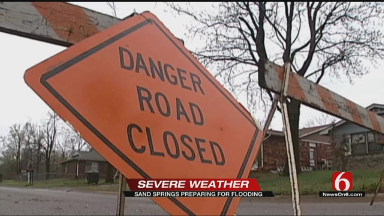 Sand Springs Police Urge Residents To Be Aware During Flooding