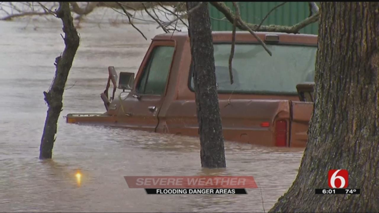 Northeast Oklahoma Could See Dangerous Flooding