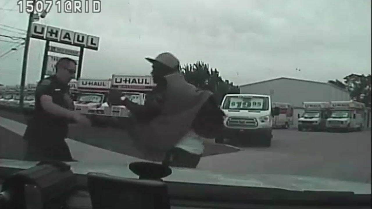 WEB EXTRA: Police Release Video Of Officer-Involved Shooting