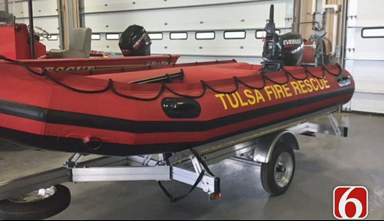 Joseph Holloway: Tulsa Fire Department Receives New Rescue Boats