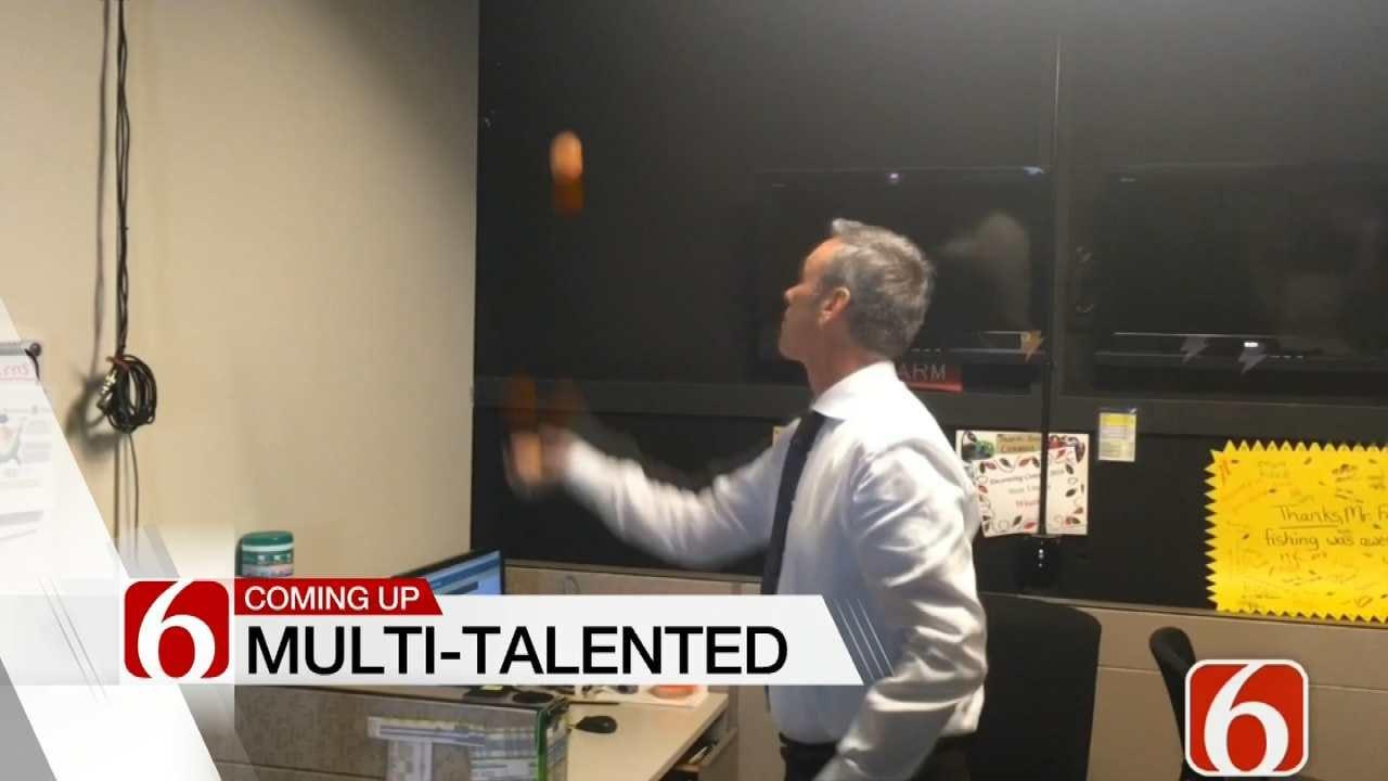 Video: 6 In The Morning Meteorologist Alan Crone's Juggling Skills