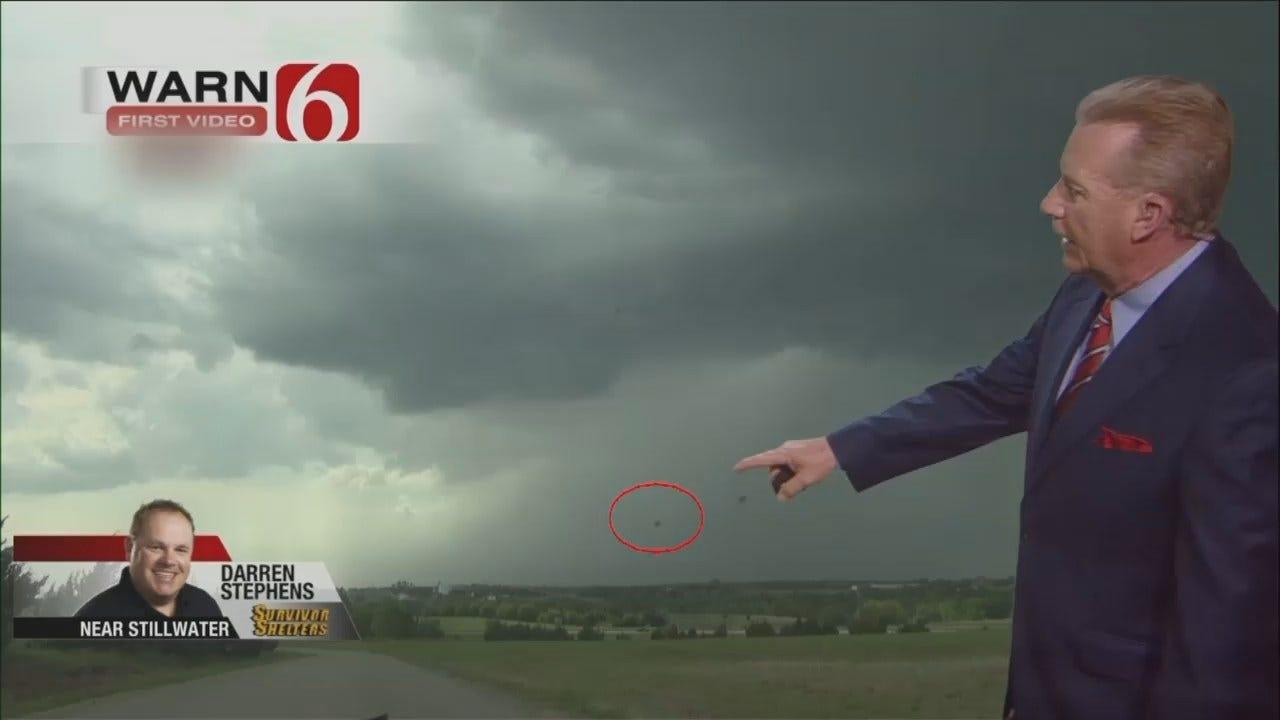 WEB EXTRA: Darren Stephens' Weather Video