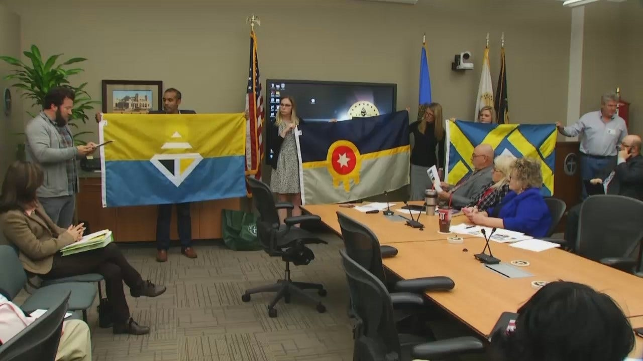 WEB EXTRA: Video From The Committee Meeting That Revealed The Flag Designs